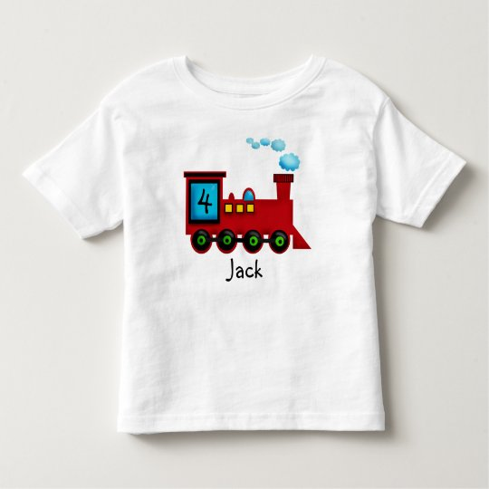 toddler Train ChooChoo Birthday T-Shirt
