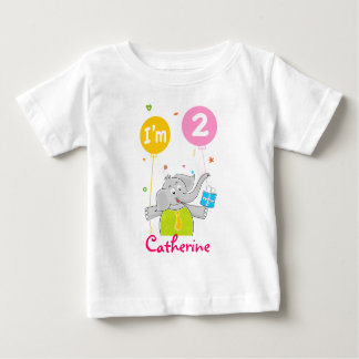 Toddler's 2nd Birthday Baby T-Shirt