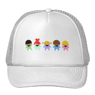toddlers-303904 COLORFUL ADORABLE CARTOON Cap