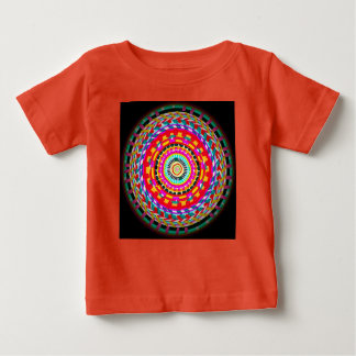 Toddler's Bright Basket Weave Top