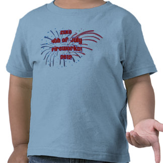 Toddler's Elko 4th of July T Tee Shirts