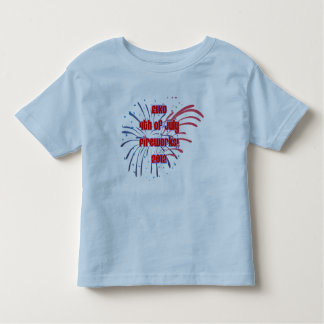 Toddler's Elko Fireworks All Around Toddler T-Shirt