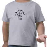 Toddlers English Half-pint T-shirt.