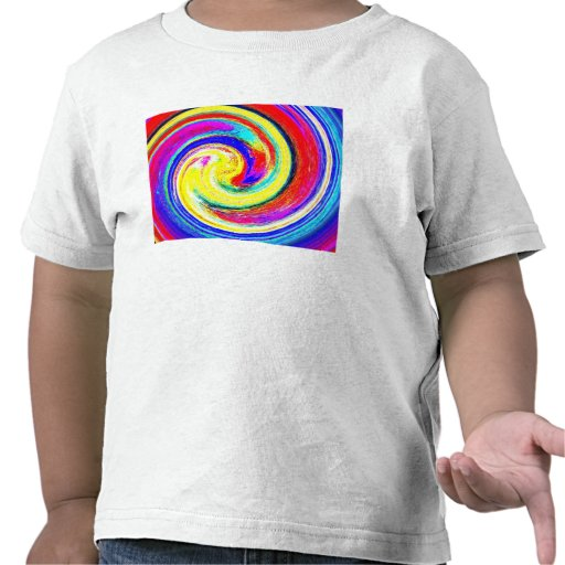 Toddlers T-shirt with bright Abstract Pattern