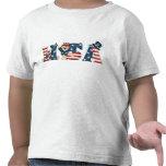 Toddler's USA Teddy Bears Basic T-Shirt