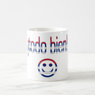 ¡Todo Bien! Cuba Flag Colors Basic White Mug
