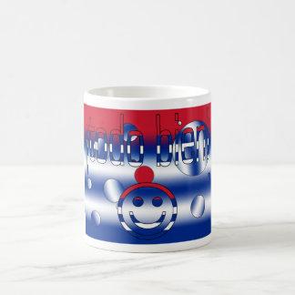 ¡Todo Bien! Cuba Flag Colors Pop Art Basic White Mug