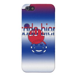 ¡Todo Bien Cuba Flag Colors Pop Art iPhone 5 Cases