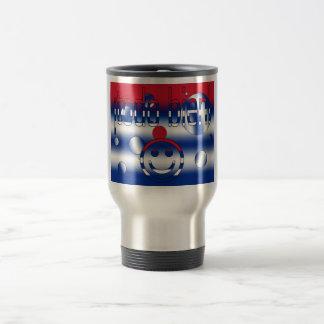 ¡Todo Bien! Cuba Flag Colors Pop Art Stainless Steel Travel Mug