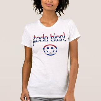 ¡Todo Bien! Cuba Flag Colors Tshirts