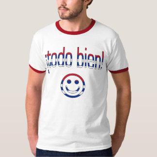 ¡Todo Bien! Cuba Flag Colors Tshirt