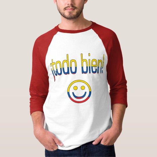 ¡Todo Bien! Ecuador Flag Colours T-Shirt