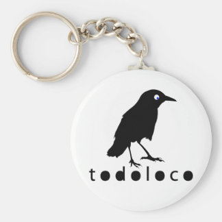 Todoloco Crow Key Ring
