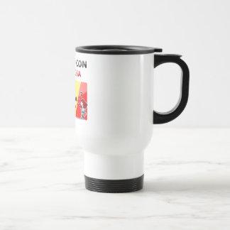 ¡Todos con la roja! Stainless Steel Travel Mug