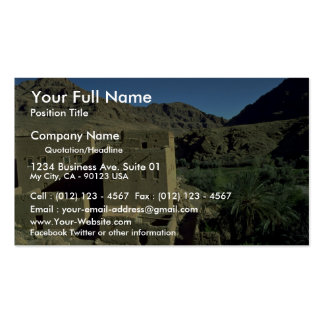 Todra Gorge oasis, Morocco Desert Pack Of Standard Business Cards