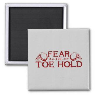 Toe Hold Fridge Magnets
