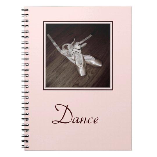 'Toe Shoes' Spiral Notebook/Journal Notebooks