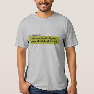 toenail clippings tee shirt