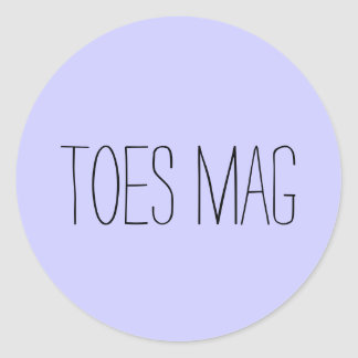 Toes Mag Sticker
