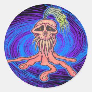 Toeskull Classic Round Sticker