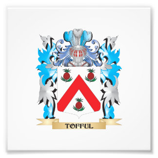 Tofful Coat of Arms - Family Crest Photograph