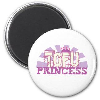 Tofu Princess Fridge Magnet