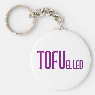 TOFUelled Basic Round Button Key Ring