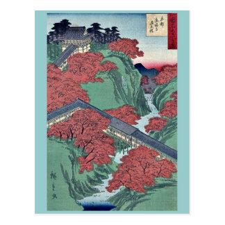 Tofukuji Temple at Kyoto by Utagawa,Hiroshige Postcard