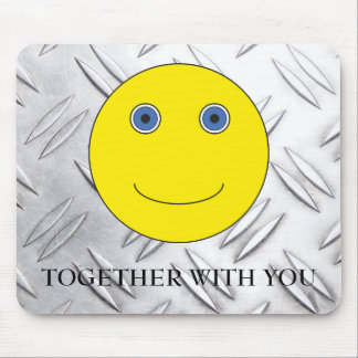 Togehther with you mouse pad