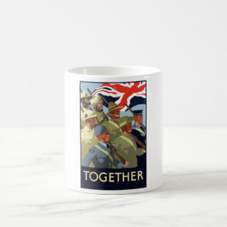 Together -- British Empire WW2 Coffee Mug