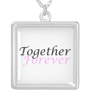 Together Forever (01) Square Necklace