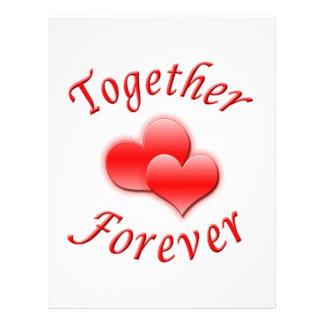 Together Forever 21.5 Cm X 28 Cm Flyer