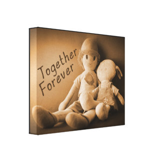 Together Forever Gallery Wrapped Canvas