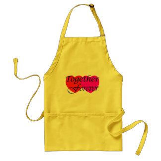 Together Forever Hearts Apron