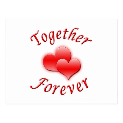 Together Forever Post Card