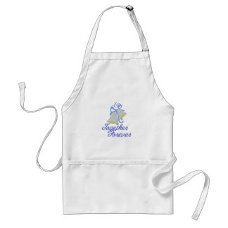 Together Forever Standard Apron