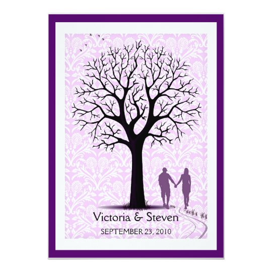 Together Forever Wedding Invitation