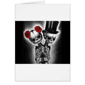 Together in Death Greeting Card