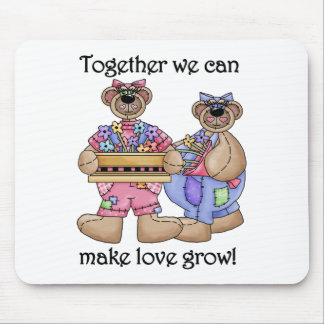 Together Love Grows Mouse Mat