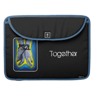 'Together' MacBook Pro Flap Sleeve Sleeves For MacBooks