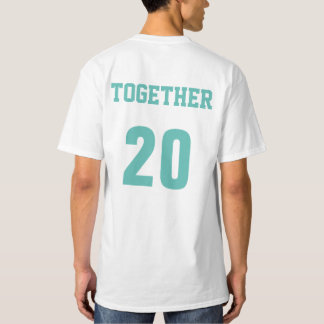 Together Since Year Couples Anniversary T-Shirt