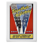 Together To Victory Posters