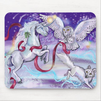 Together we are One Unicorn Mouse Mat