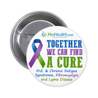 Together We Can Find a Cure 6 Cm Round Badge