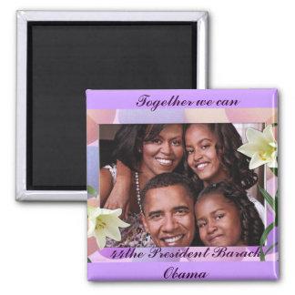 Together We Can_Magnet Square Magnet