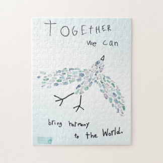 TOGETHER WE CAN patience is a vertue Jigsaw Puzzle