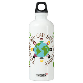 Together We Can Save the Planet SIGG Traveler 0.6L Water Bottle