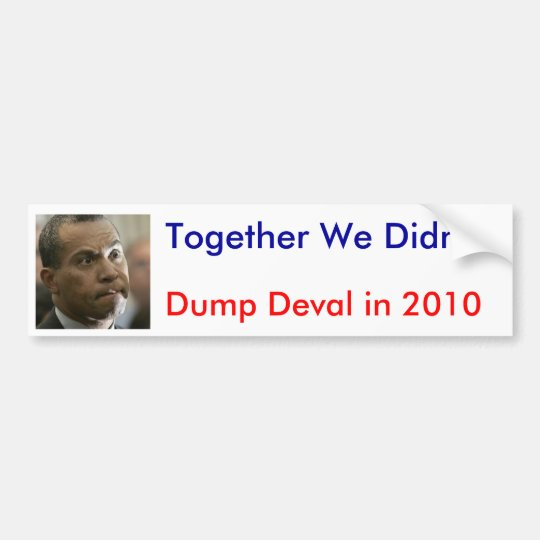 Together We Didn't Bumper Sticker
