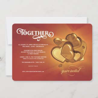 Together Wedding Invitation (Version 5)
