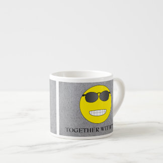 Together with you espresso cup